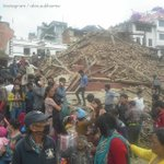 BREAKING: Significant damage in Kathmandu after major earthquake strikes Nepal: http://t.co/yXKpIsBixf http://t.co/kd20lXb4pN