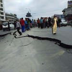 """@IndianExpress: First photos from #Kathmandu of 7.5 magnitude #earthquake https://t.co/wL04SAaiDg http://t.co/JLW9EutTbJ"""