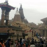"""@BBCBreaking: Pictures from Kathmandu show damage of 7.9 mag #earthquake-reports of injuries http://t.co/uyV3pa13zX http://t.co/HMbrPBmutx"""