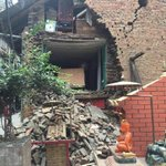 Second quake at M7.0 jolts ground 30km beneath #Nepal at 6:45 UTC, 34 minutes after the first: CENC http://t.co/7rgIYZ7sVr