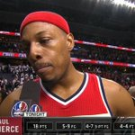 """Thats why they brought me here"" -Paul Pierce on hitting clutch shots down the stretch. http://t.co/ROQiQdiyrv"