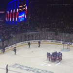 Tremendous night for the @NYRangers! On to Round 2! #changetheending #NYR http://t.co/x1tIblT3Z9