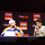 RT @meggy_blaine: As usual, @JayMewes & @ThatKevinSmith rocked the house with their podcast at @c2e2! Beyond hilarious! http://t.co/vJU3z2C…