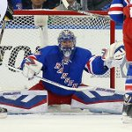 """VIDEO: """"We played a huge game""""-#NYR @HLundqvist30 speaks after Game 5 OT win: http://t.co/RH7UUdbLmW http://t.co/Y6iiFofsHH"""