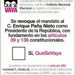 #PenaNietoTieneQueIrse por todos los crímenes que representa: Atenco, Tlatlaya, #Ayotzinapa, #Apatzingan #QueSeVaya http://t.co/77AFWy05AN