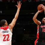 Game 3 Highlights: #Raptors 99 Wizards 106 http://t.co/MGHLzYXZ34 http://t.co/n7tZImHkf9