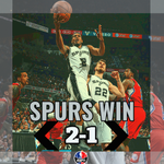 Kawhi Leonard has career-high 32 Pts as Spurs dominate Clippers in Game 3, 100-73. Worst loss in LAC playoff history. http://t.co/LazVzb0YBp