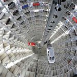 This is the VW factory in Germany. See the automated storage silo. http://t.co/H1TkdaUaiD via @Danalphie