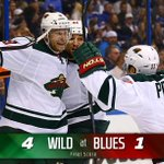 #mnwild wins 4-1! Minnesota leads the series 3-2 against #stlblues! Scandella, Niederreiter, Koivu & Coyle all score. http://t.co/OnYXRuAqoO