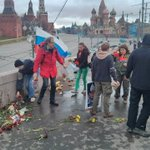 #Moscow #Nemtsovs murder site memorial was destroyed again this morning via @urfin_1648 http://t.co/l9EVnQVFYU