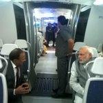 Really enjoyed the ride. Thanks Delhi Metro. Thanks Sreedharan ji! http://t.co/U92R4iTQL8
