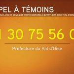 Disparition dun enfant > Marcus, 2 ans et demi, a disparu hier vers 13h45 à Butry-sur-Oise (Val-dOise). http://t.co/UJ4ldmNezo