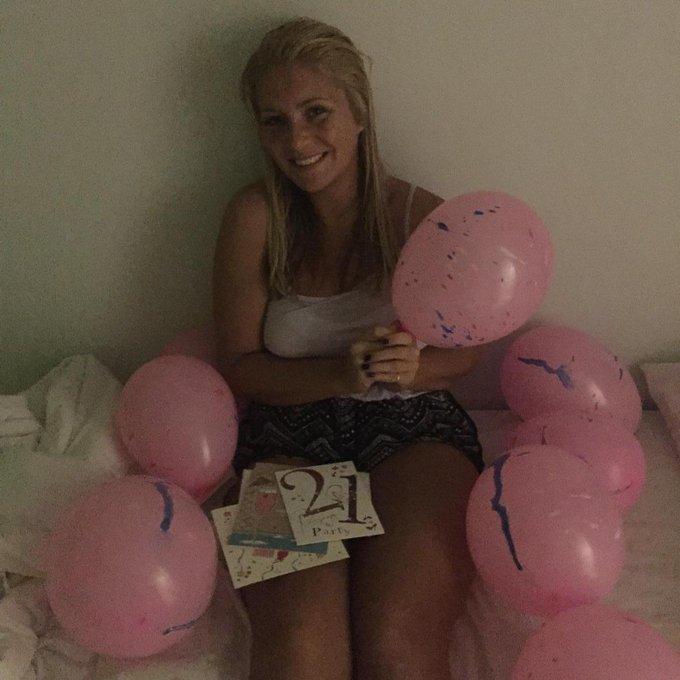 Happy 21st birthday to my princess