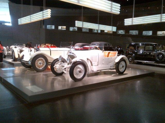 Another view of the early #MercedesBenz collection at the #DaimlerBenzMuseum in Bad Cannstatt. http://t.co/3unmQw0Q1j