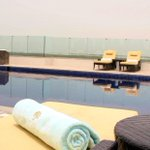 Care for a morning swim? The #pool at #Eastern #Mangroves #Suites by #Jannah #AbuDhabi #SummerSplash #view #sunny http://t.co/YeKkVeZw6M