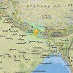 MORE: 7.5 quake strikes #Nepal, 80km east of #Pokhara http://t.co/E6wZrronVg http://t.co/nSUKqyuCnv