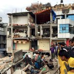 Earthquake with a magnitude of 7.9 hit #Nepal. At least 688 people dead. #PrayForNepal http://t.co/1URz1b5eoE