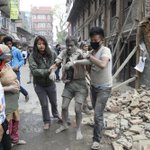 Images emerging after the Nepal earthquake reflect widespread destruction and damage http://t.co/WujMIyFeGK http://t.co/nuwc5BCVLs