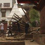 Duele ver el casco antiguo de Patan, en Katmandu, en ruinas por el terremoto de intensidad 7,9 en #Nepal @zigoraldama http://t.co/1lkVKIkVT3