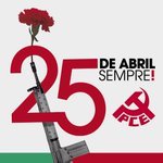 25 abril sempre! Aniversario de la Revolución de los Claveles. Que viva la lucha de la clase obrera! http://t.co/bkCua33jWj
