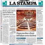 Buongiorno e buon #25aprile. Ecco la nostra #primapagina di oggi, con lo speciale per i 70 anni della Liberazione http://t.co/k6TtypVlAm