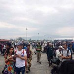 Kathmandu airport shut post earthquake; flights diverted to India (Image: Reuters) http://t.co/poknlcS1yP