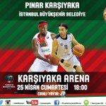 Bugün saat 18:00'da Karşıyaka Arena'da @istanbulBBSK konuğumuz! Biletler Tam: 20 TL Öğrenci: 10 TL #HaydiKAFKAF http://t.co/rTf6vUtApB