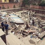 Still Developing: Major earthquakes shake up Nepal, cause extensive damage http://t.co/w6IRLiWf5I http://t.co/nukZeUboyz