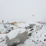 Images from Everest Base Camp by UTM student Azim Afif following the quake #Kathmandu @501Awani UTM camp is safe. http://t.co/4fRBqm90lv
