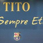 Un año sin Tito Vilanova. Per sempre etern http://t.co/BsWtrMNHtZ http://t.co/BgBhLiWxD8