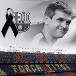 Il y a un an jour pour jour, Tito Vilanova nous quittait... http://t.co/YLopdVFUW0