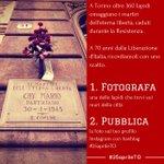 Ricordare insieme i martiri delleterna libertà: con una foto, su Instagram. Info: http://t.co/qiat8qTRZo #25aprileTO http://t.co/kfeUdGZUg3