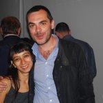 Regina #galindo oggi al Museo.Grande donna,straordinaria artista.Bellissimo #25aprile.Grazie http://t.co/GV0wL06Qkk