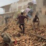 Séisme au #Népal > Le ministère de lIntérieur fait état dun premier bilan de 114 morts. ► http://t.co/IyGB7eDgQ0 http://t.co/8SpUGRL1dm