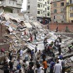 More than 100 killed in powerful Nepal #earthquake, say government officials and police http://t.co/uwtNJp74EE http://t.co/xkGzndWaJe