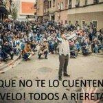 QUE NO TE LO CUENTEN! VÍVELO CON NOSOTROS! TODOS A RIERETA! #rcde #semanaDeDerbi http://t.co/VwSIKk9lng