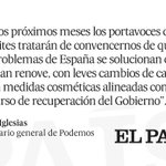 Tribuna   ¿Qué es el cambio? http://t.co/9mlr4OXOje Por @Pablo_Iglesias_ http://t.co/FXTS5WWq2U