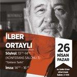 Pazar, İzmir Kitap Fuarı. http://t.co/g1zv5myCFD