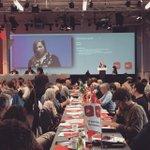 Autorin Anne Wizorek spricht an der Delegiertenversammlung der @spschweiz für eine linke Gleichstellungspolitik! http://t.co/gG72PwsCyH