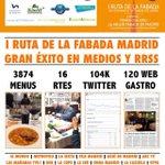 Tras el éxito en #Madrid de la I @RutadelaFabada llega la I #rutadelapaella!!! info@estrategiasandmarketing.com http://t.co/drOCuYeBw8