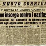 La #Liberazione raccontata dalle prime pagine dei giornali dellepoca http://t.co/m466cPXlf7  #ilcoraggiodi #25aprile http://t.co/ysXzIdOoIK