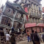 Red Cross engaged in search and rescue & caring for the injured following #nepal #earthquake http://t.co/noAD4adm5B
