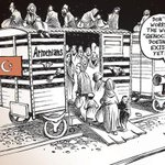Thanks @NYTimes and cartoonist @PatChappatte for publishing this #ArmenianGenocide caricature. http://t.co/Rwbxrv5K0u