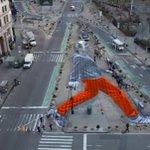 French artist in #NYC! RT @iBristolPeople: #Bristol Mayor promotes #Walking Green Capital http://t.co/ReB1F8l4FF @pablo_dulce @heideggerkid
