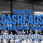 RECORD: Record crowd anticipated this afternoon against @alfretontownfc! http://t.co/3hGHUMCN87 http://t.co/fi7vQrqyZt