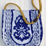 Carpet Bag  Unique Bag  Vintage Bag  Beach Bag  by JabberDuck http://t.co/bL9rzL5vWV http://t.co/GKuxbNn8zv