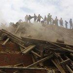 101 dead as 7.8 magnitude #earthquake hits #Nepal, causing big damage http://t.co/bfhqysthRF http://t.co/SldUipRHgG