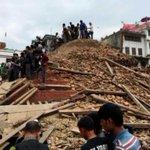 Asciende a más de 600 la cifra de muertos tras un seísmo devastador en el norte de Nepal http://t.co/jZC1arclK9 http://t.co/fAY212rHGa