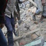 Fotogalería   Primeras imágenes tras el terremoto de Nepal http://t.co/ZfvWpJhXUF Al menos 600 muertos http://t.co/Jidypvz6tc