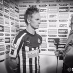 .@siemdejong faces up to the media following todays defeat at St. James Park. #NUFC http://t.co/nNi8SdGig0